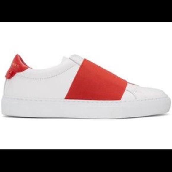 White And Red Givenchy Sneakers   Poshmark